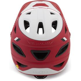 Giro Switchblade MIPS casco per bici rosso/bianco